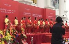 Múa lân sư rồng khai trương Vincom Việt Trì