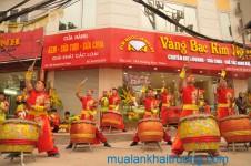Múa lân khai trương Seabank Văn Quán