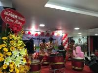 Múa lân khánh thành mầm non Bé Xinh -HCM
