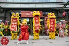Múa Lân khai trương nhà hàng San fo lou Q 3 tp. HCM
