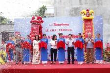 Múa Lân khai trương nhà sách tiền phong Hà Nội