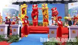 Múa Lân Khởi Công tại Thuận Thành Bắc Ninh.