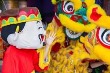 Múa Lân Khai Trương GAME One Top Hà Nội