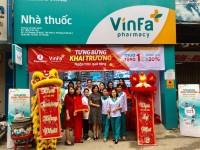 Múa lân hệ thống nhà thuốc Vinfa của Vingroup