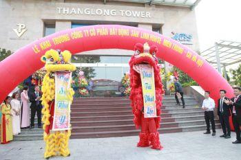 Múa lân khai trương Cty Linh House CN Hà Nội
