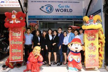 Múa Lân khai trương see the World Q1 HCM