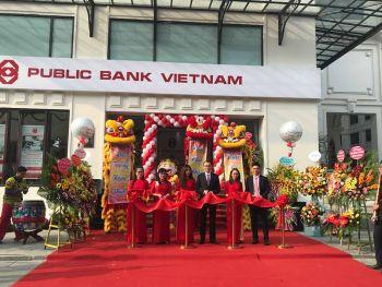 Múa Lân Khai Trương Public Bank Hà Nội
